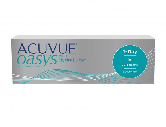 ACUVUE® OASYS 1-Day com HydraLuxe®